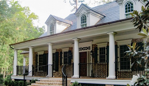 Georgian Revival ­- The Ford Plantation